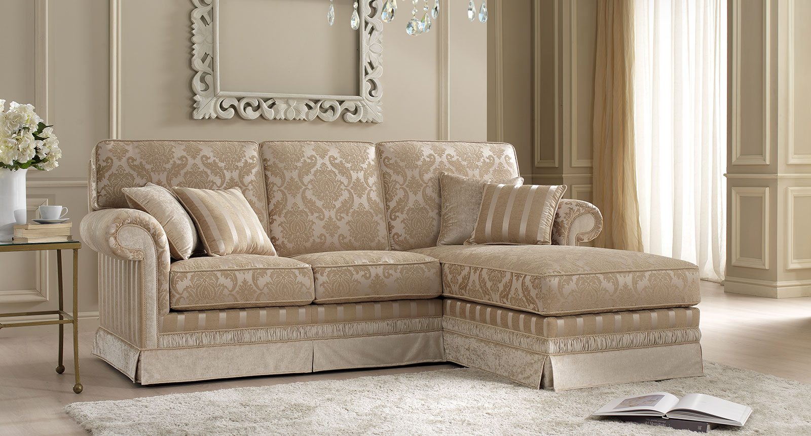 Luxury sofas by Euro Design